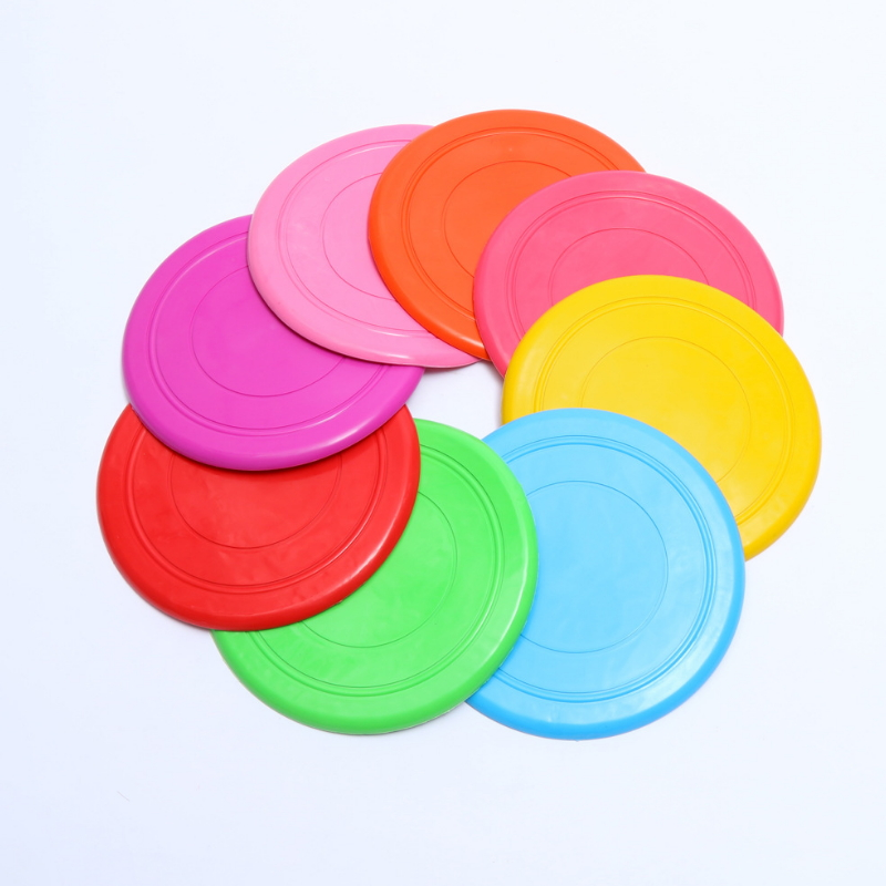 New design waterproof throw and catch flying discs tpr pet toy 001-1