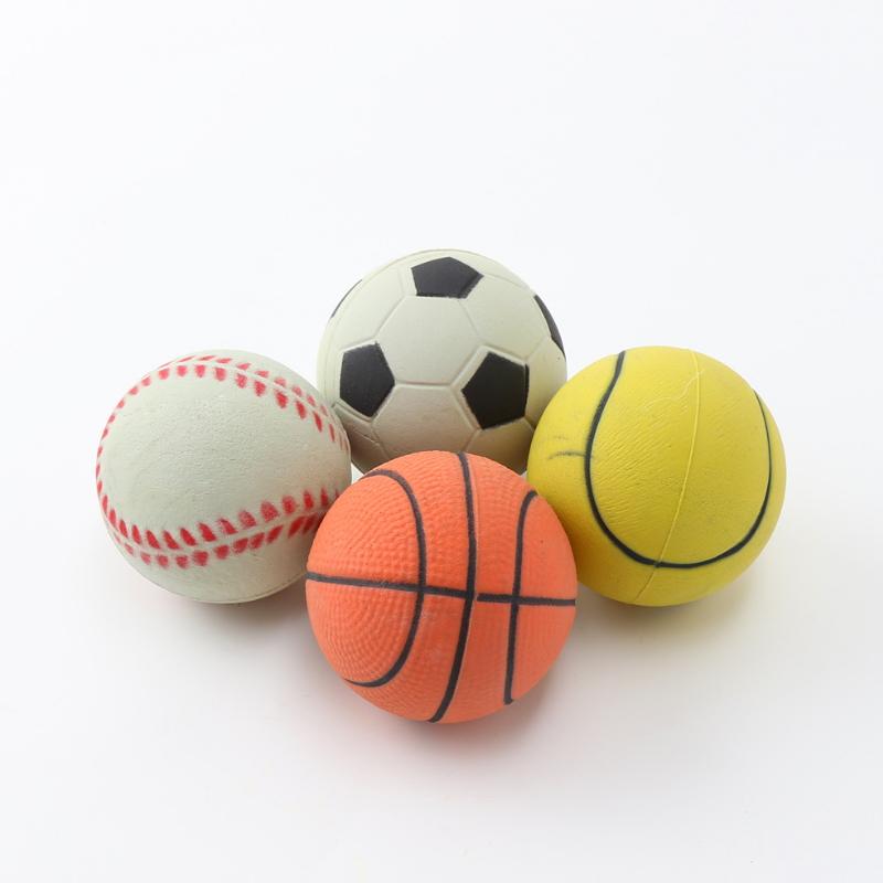 Natural rubber foam pet dog toy ball ZH