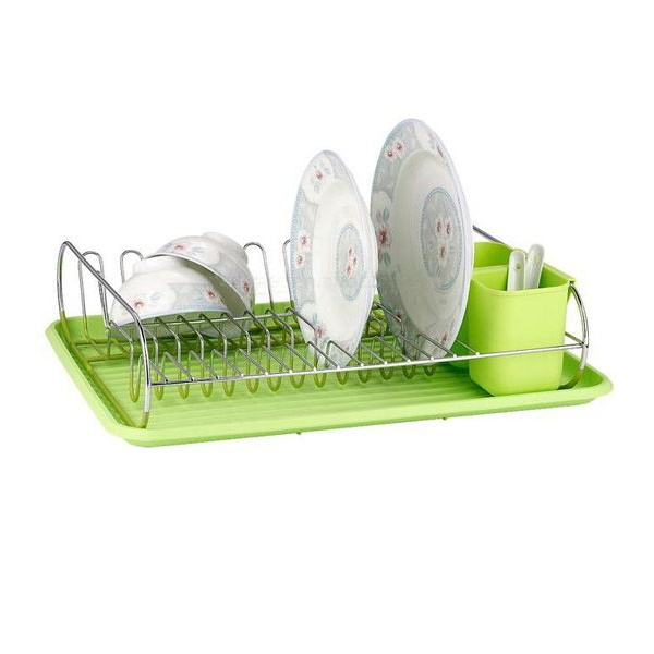 Custom Stainless Steel Wire Metal Kitchen Cabinet Drainer Dring Dish Rack  WK-2007
