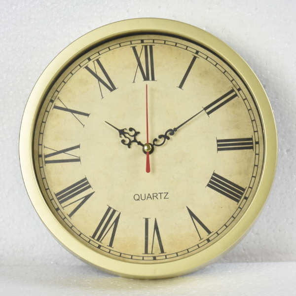 OEM 10 Inch Silent Quartz Decorative Wall Clock Art Wall Clock  2013