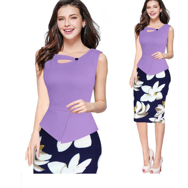 Women′s Bag Hip Skirt Summer Professional Wear Two-Piece   MF-002