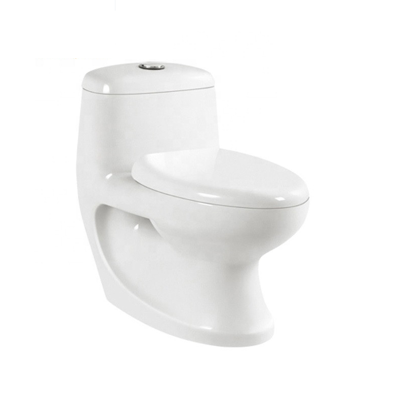 Cheap price  ceramic material one piece  toilet bowl