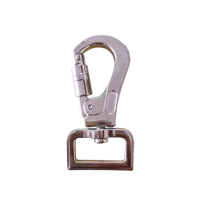 Zinc alloy Swivel Eye Snap Hook for dog leashes