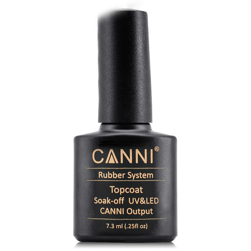 New Nail Art 7.3ML Soak Off UV/LED Rubber Basecoat Rubber Top coat for Color gel nail polish