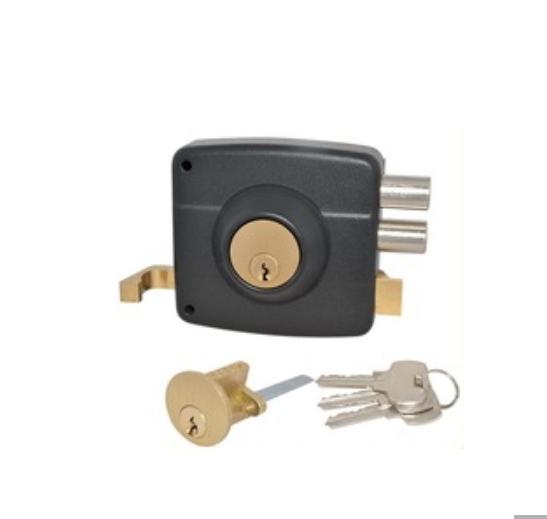 Main Door Lock Type Rim Lock Safe Door Lock
