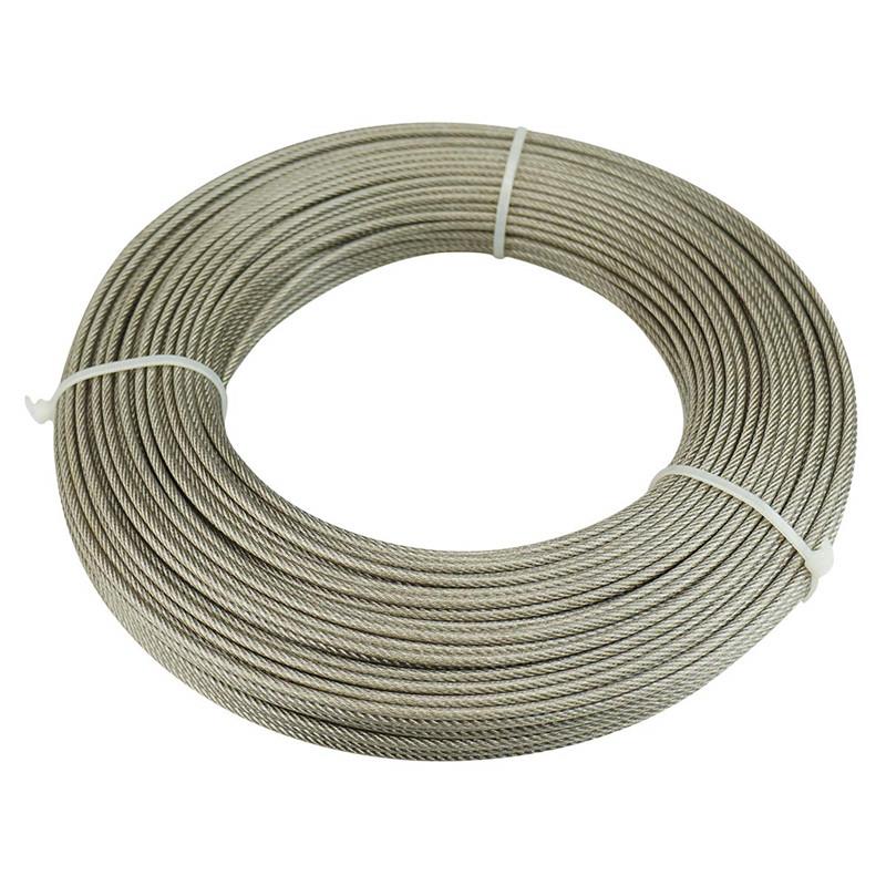 2mm - 40mm galvanized steel wire rope