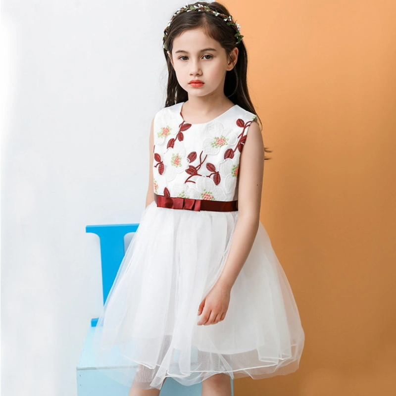 Girl Clothes Frock Design Mini Ball Gown Fluffy Party Prom Dress