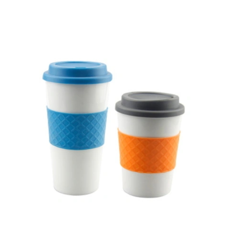 FDA Approval Warmer Silicone Reusable Coffee Cup