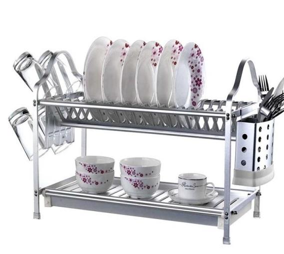 Kitchen Double Layer Dish Rack