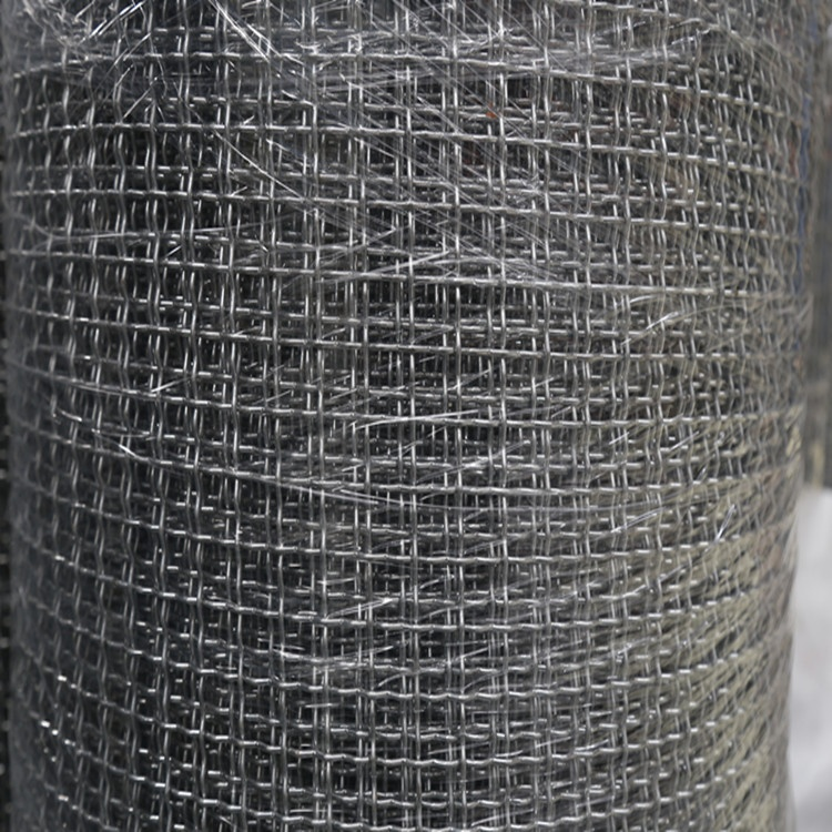 Hot square screening stainless steel crimped wire mesh AYW-015