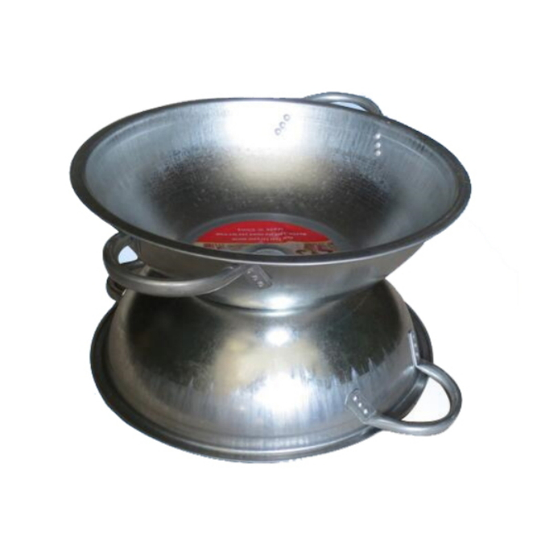 Made in China Galvanized Metal Top Pot