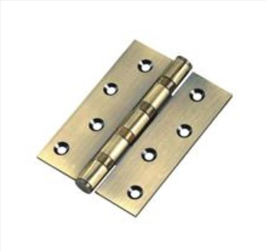 Brass Plated Light Type Iron Hinge Door Hinge (SH-026)