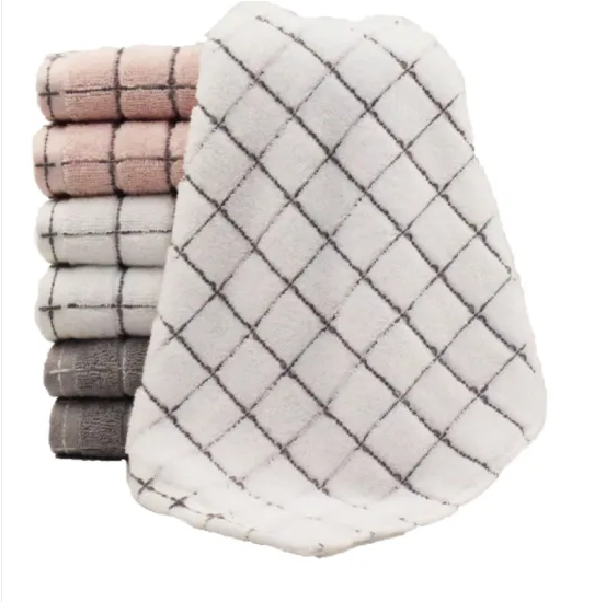 High Quality Home Textile Terry Cotton Personal Face Towel