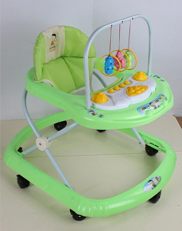 Foldable 360 Degree Rotating Baby Walker Strollers Carriers With Toys