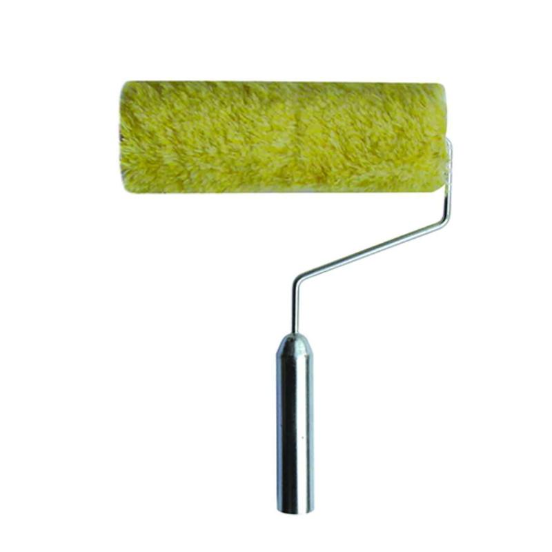 Iron Handle 100% Cotton Decorative Paint Roller Brush In Brush  XF-009