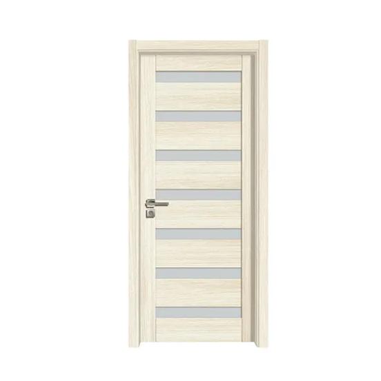 New Product PVC Bathroom Door Price Foreign Doors MDF Door