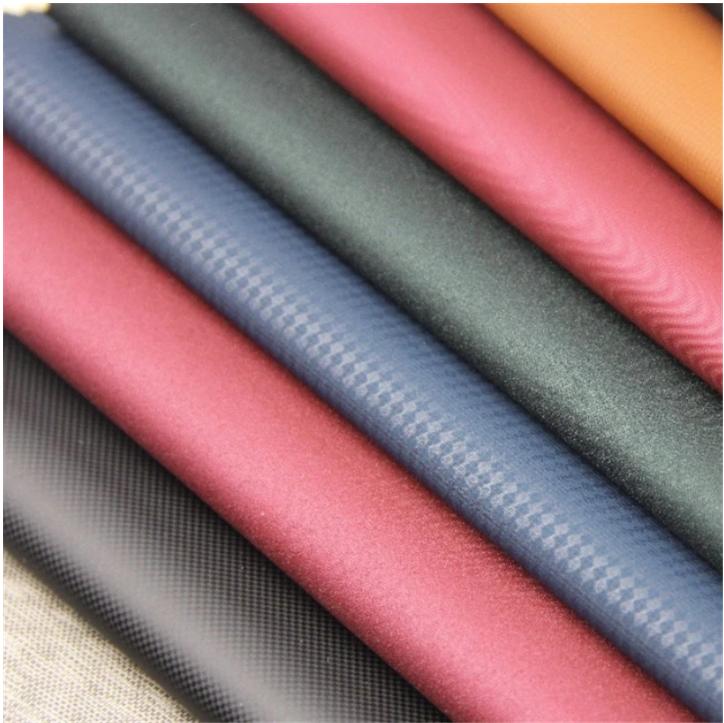 Hydrolysis Resistance 10 Years Vegan Embossing PU Leather for Indoor Furniture