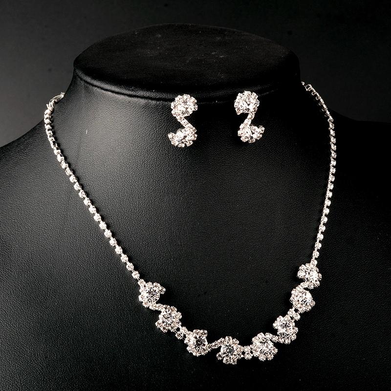Necklace Earring Set Earring Necklace Women Fashion Jewelry