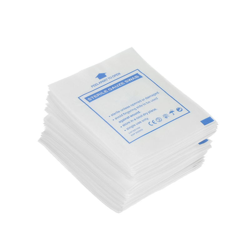 Medical High-Quality Degreased Gauze Block Disposable 100% Cotton Gauze Piece