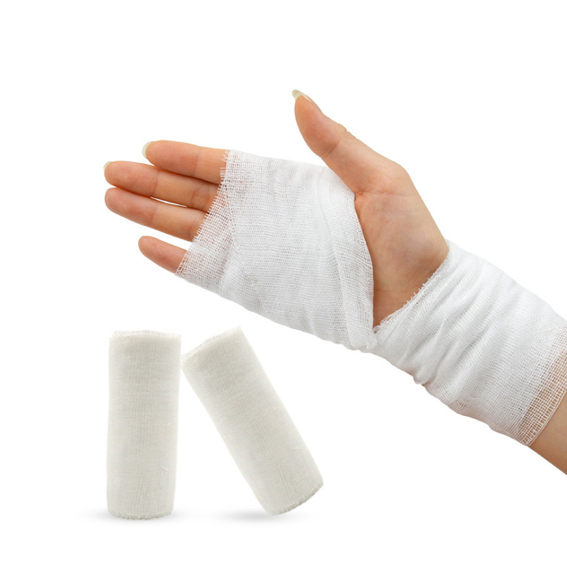 First Aid Gauze Outdoor Wound Dressing Medical Breathable Gauze
