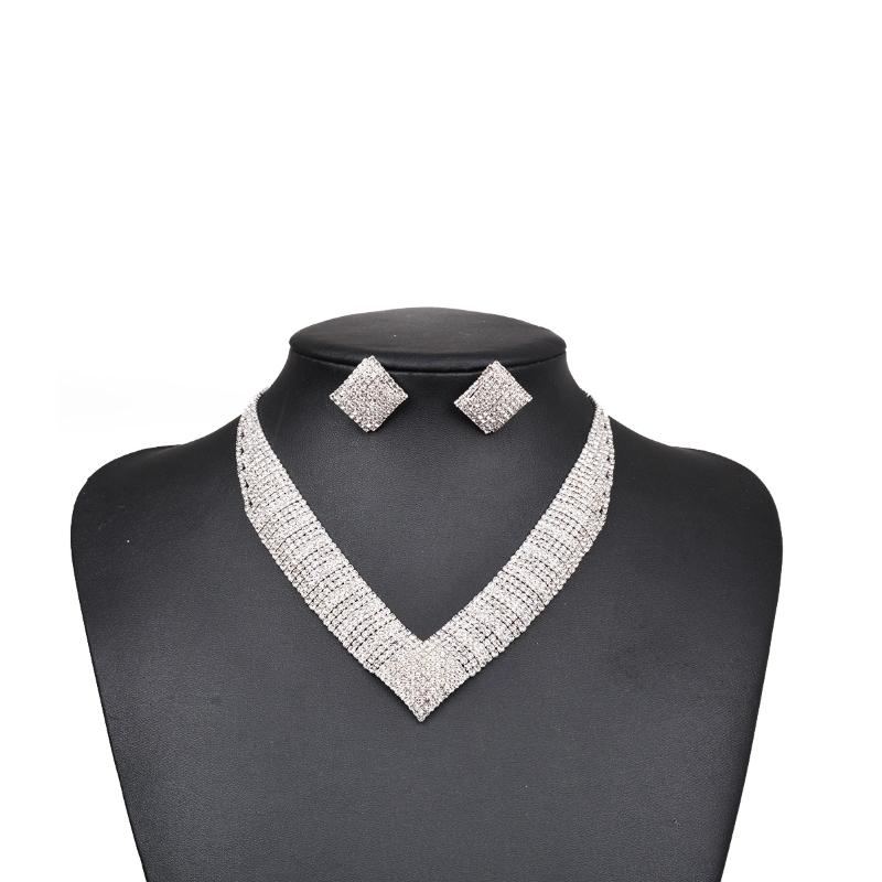 Dubai Best Selling Wedding Gift Jewelry for Women Luxury Jewelry Sets
