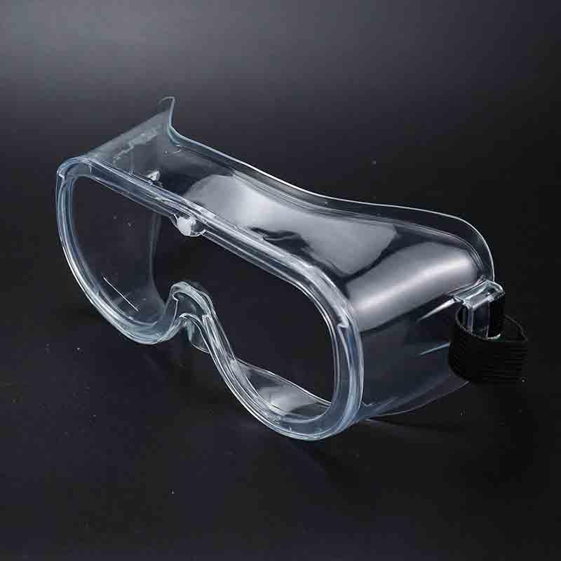 PVC Eye Protector Disposal Eyewear Clear & Anti-Fog Design Safety Goggles