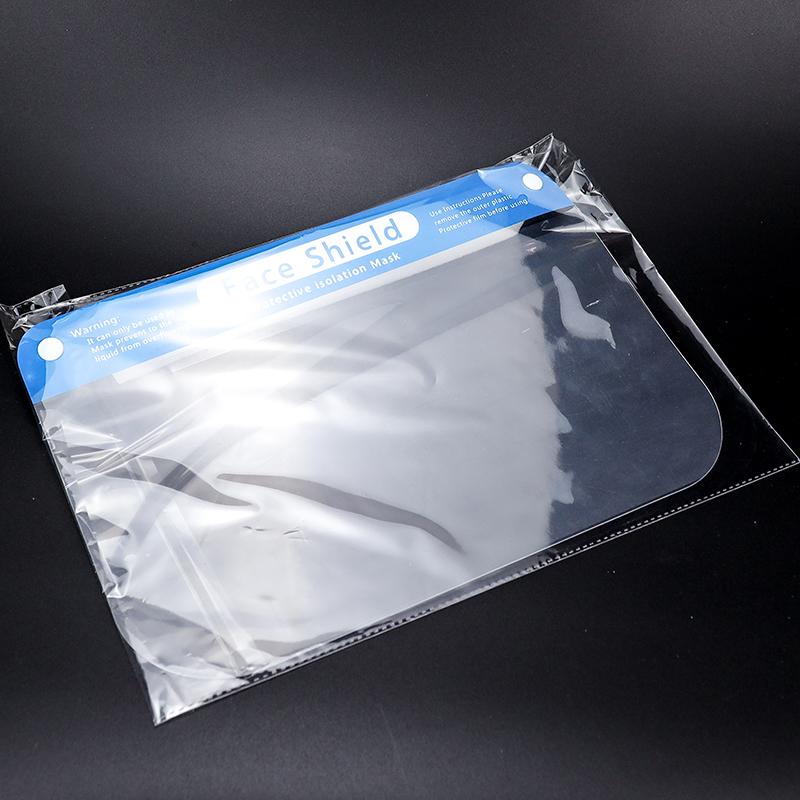 Transparent Anti-droplet Mask Plastic Protective Cap Faceshield Cover Anti Saliva Fog Facial Mask Face Shield