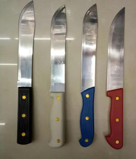 Factory Direct African Hot Style Straight Handle Butcher Knife Stainless Steel Fruit Knife, Chef Knife, Kitchen Knives