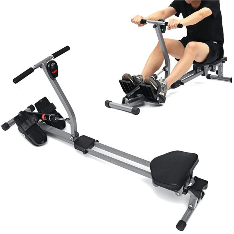 12 Level Fitness Rowing Machine Cardio Sport Exercise Tools Abdominal Muscle Trainer Fitness Equipment
