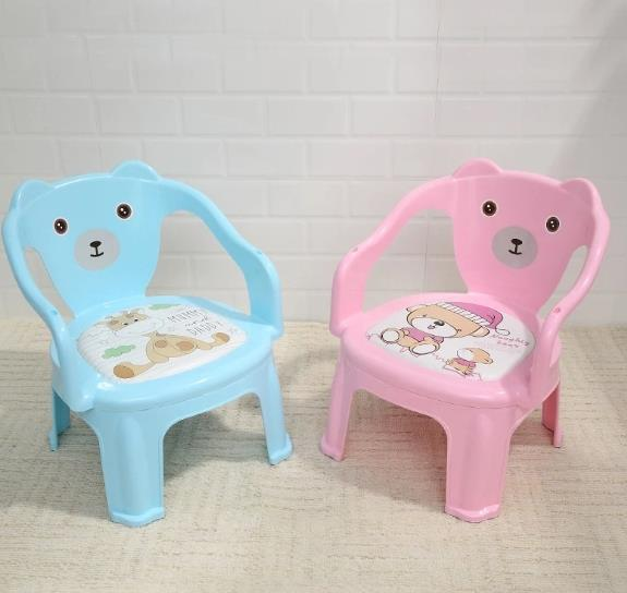 The Factory Direct Sale Kindergarten Baby Eat Chair Children Eat Chair Cartoon Back Chair Plastic Multifunction Call to Call Chair Wholesale