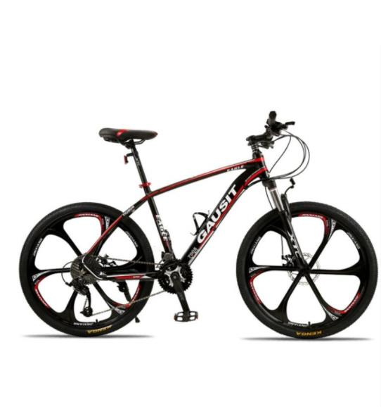 Aluminum alloy bicycle 26 / 24 inch variable speed cross country shock absorption 30 speed oil brake mountain bike