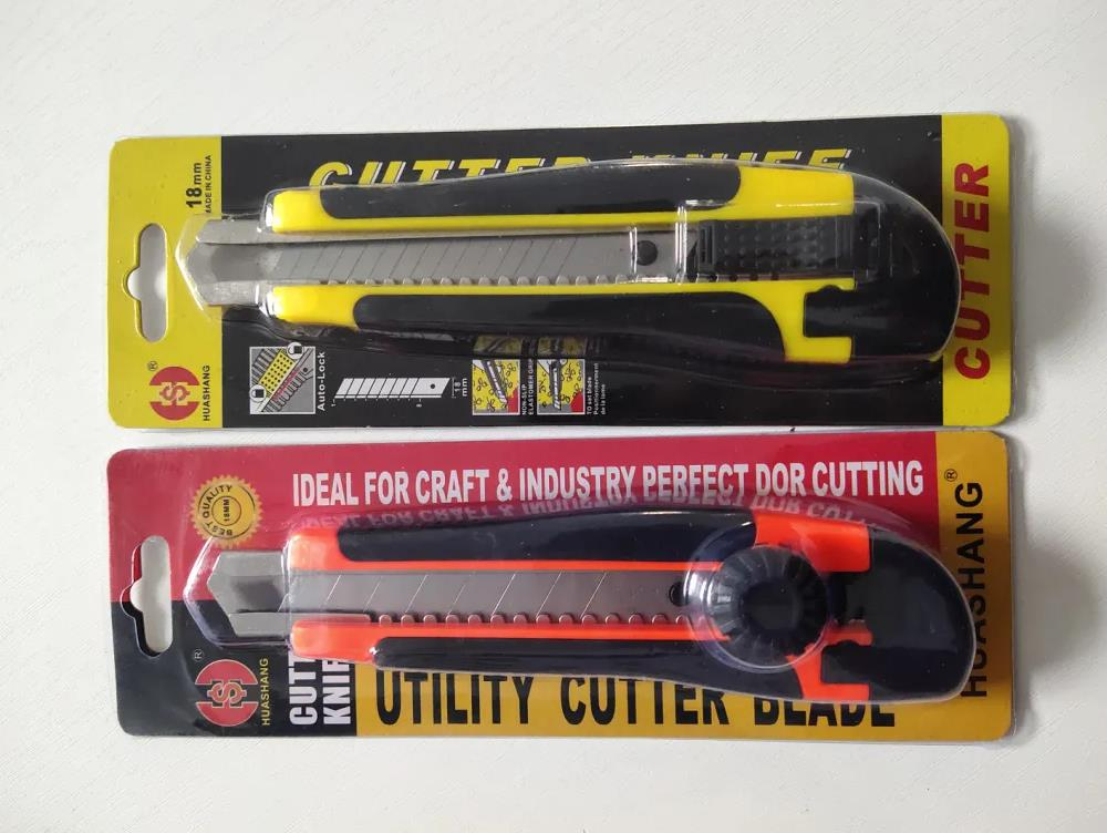 Factory Direct Two Ultra Sharp Box Cutter Tool Knife Cutting Paper Knife