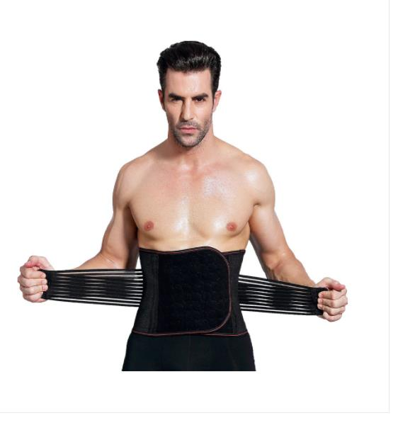 Men with Waist Abdomen Cross-Border Tight Plastic Belt Staylace Body Breathable Girdle Less Beer Belly