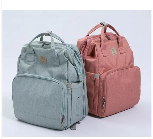 New Mama Diaper Bag Maternity Baby Bags for Mom Mommy Backpack Stroller Organizer Nursing Mother Changing Waterproof Nappy Bag