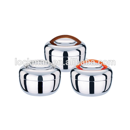 stainless Steel Apple Shaped Lunch box food carrier food containerQL-2004