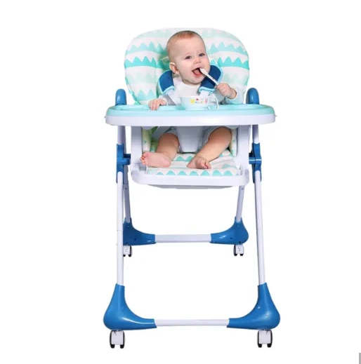 Children's Multi-Functional Dining Chair Baby Dining Table Folding Table Chair Portable Baby Seat
