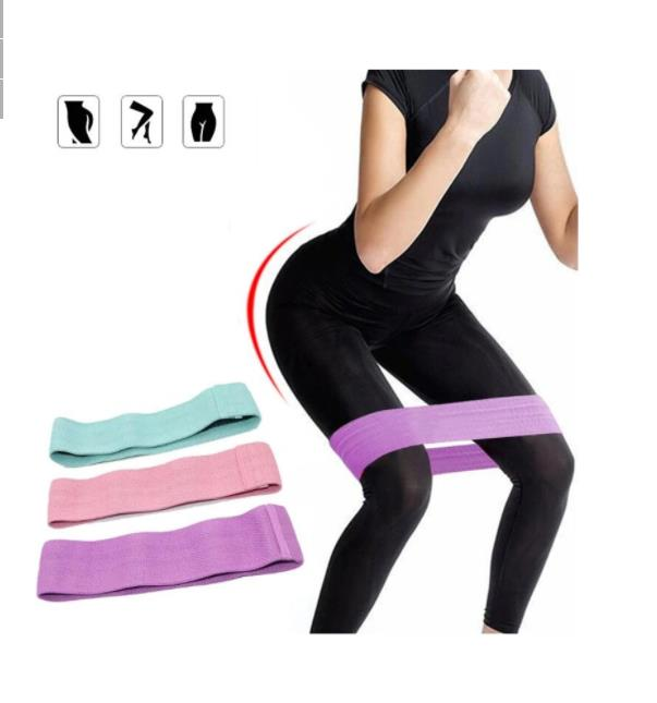 1PC 160-260lb Hip Trainer Resistance Band Home Fitness Yoga Belt Legs Hip Muscle Exercise Tools
