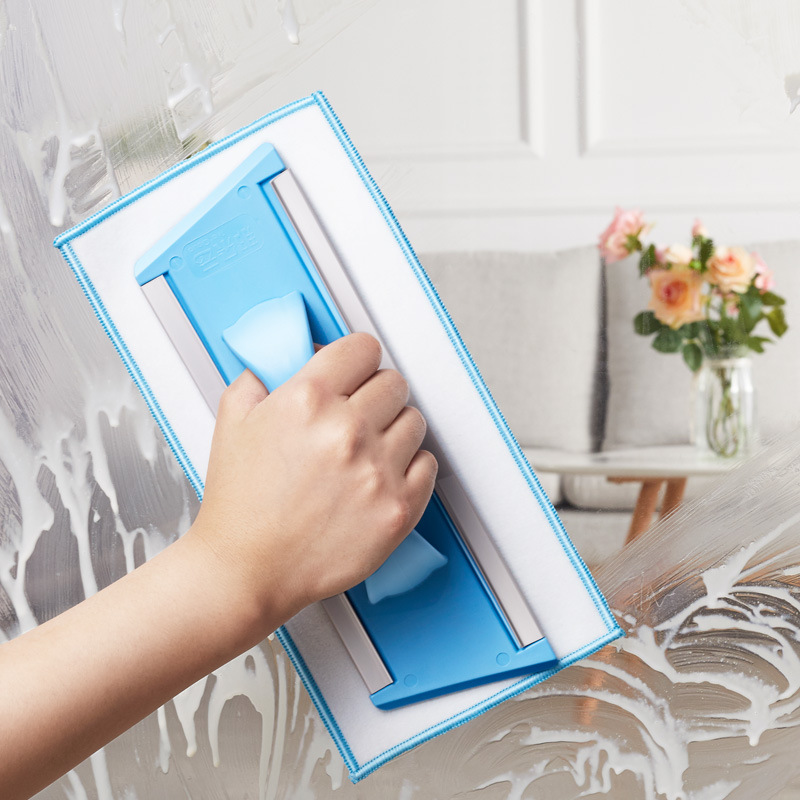 Glass Scraper Plastic Window Brush Household Cleaning Tool Glass Cleaning Artifact
