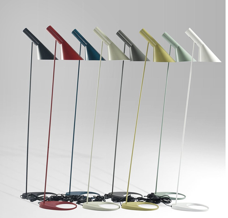 Nordic Moderncolorful Tall LED Floor Lamps for Lighting