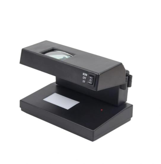 Purple Light 9wuv Lamp with Magnifying Glass Currency Detector White Light Watermark Detection