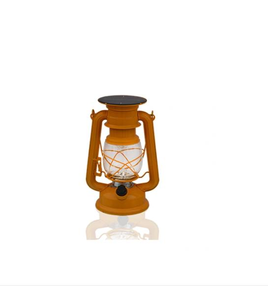 235 Light Blue Column Type Solar Power LED Lantern