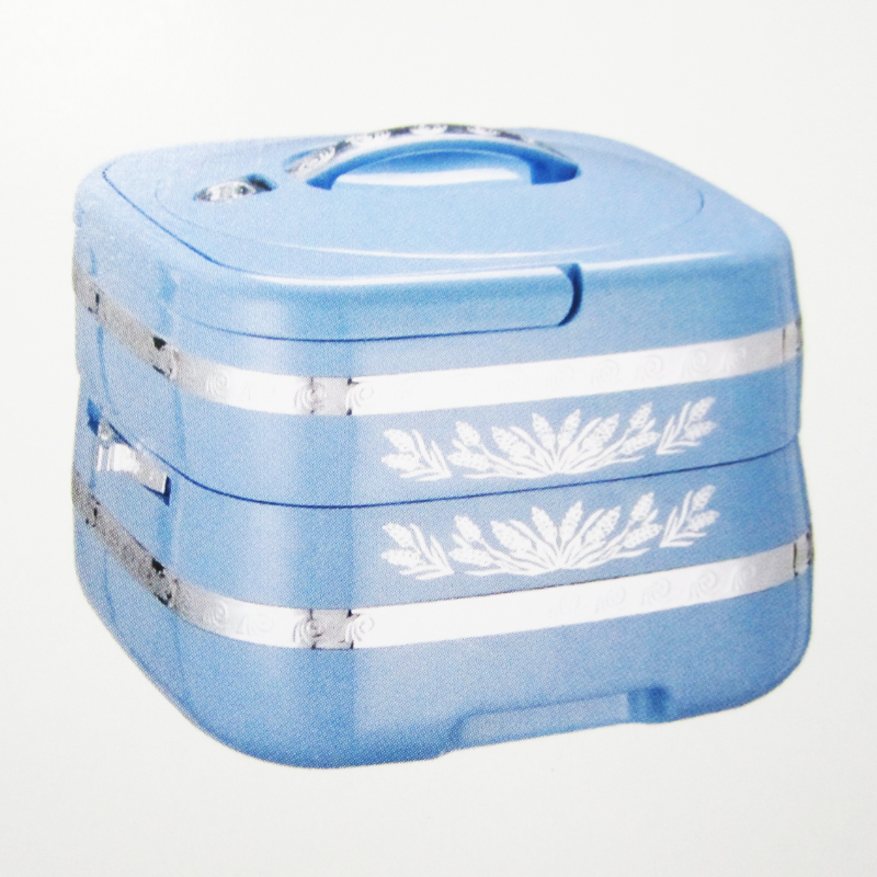Double Layers Stainless Steel Thermal Insulated School Lunch Boxes