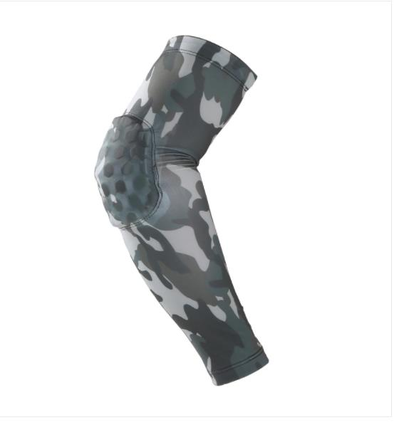 Lycra Beehive Elbow Lengthened Anti-Collision High Bounce Basketball Arm Guard