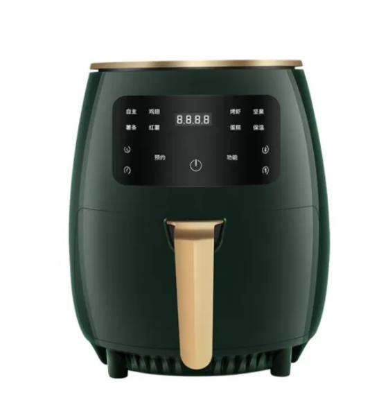 Automatic 4.5L 1400W Healthy Oil Free Cooking Air Fryer