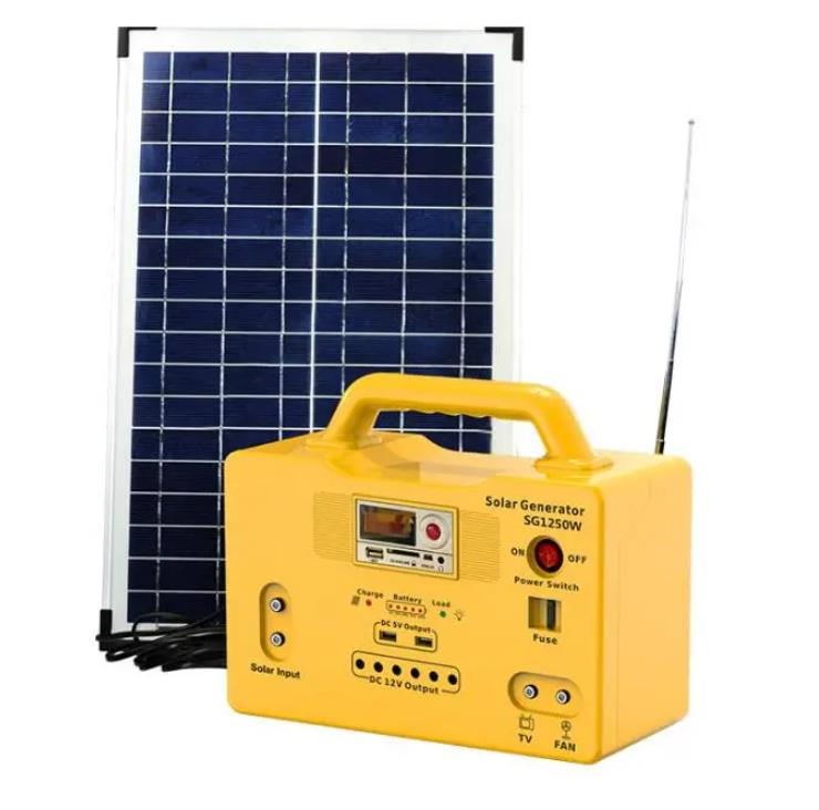 Multi-Function Outdoor Solar Lighting solar Energy System with Music Control Panel