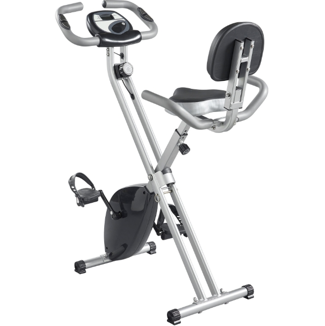 Home Indoor Fitness Bike Exercise Bike Ultra-Quiet Magnetic Car Exercise Bike with Backrest Exercise Equipment