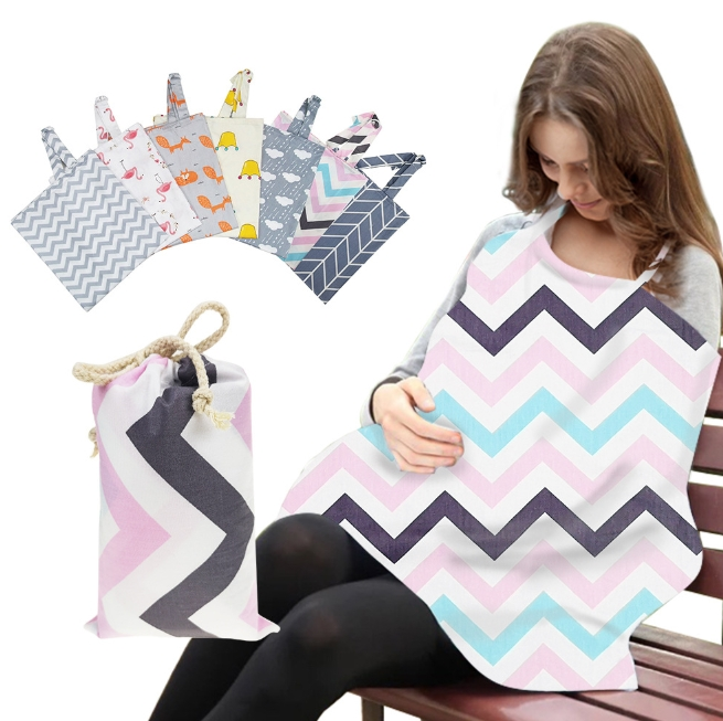 Cotton Breastfeeding Clothes for Outings Nursing Feeding Apron Cover