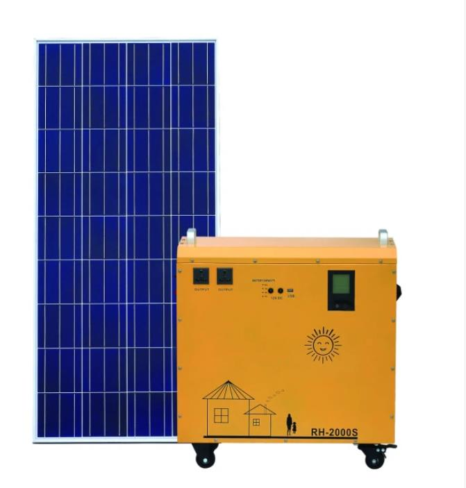 China Supplier Factory Price Wholesale Outdoor 300W 600W Solar Power System