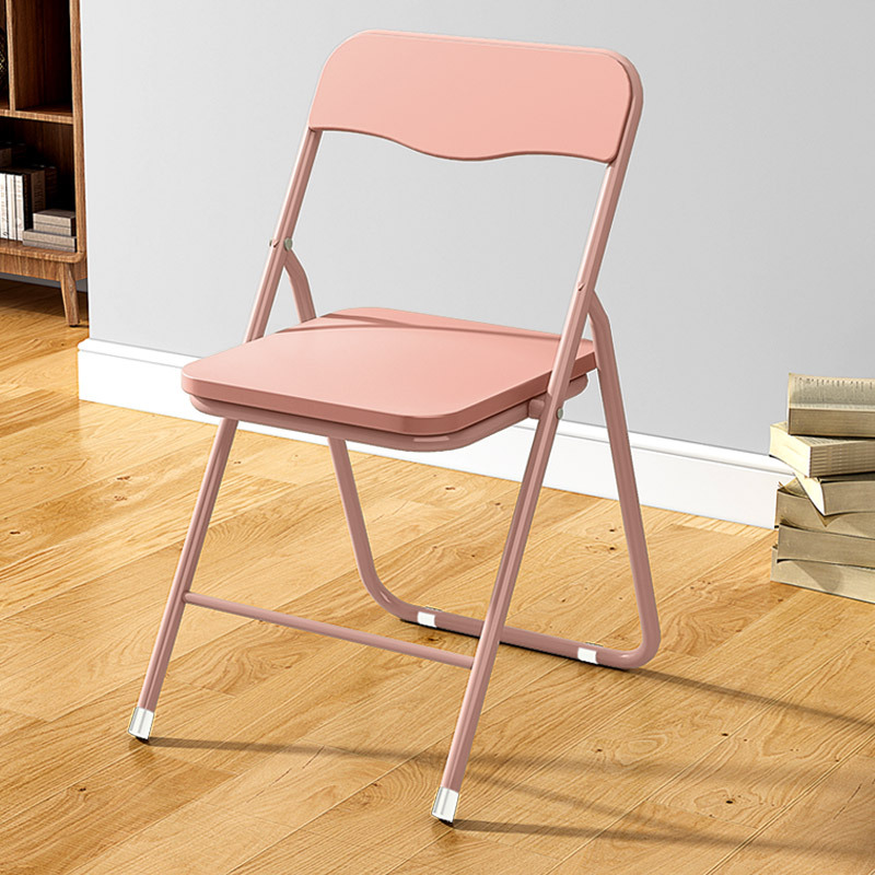 Home Restaurant Chair with Backrest Foldable Outdoor Chair Office Meeting Simple Computer Seat