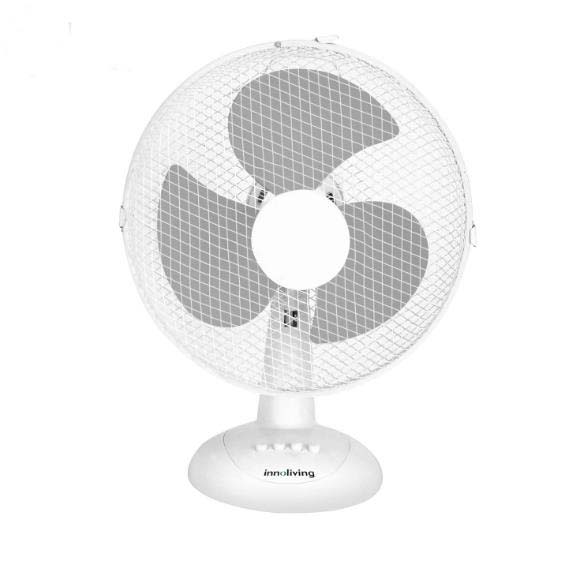 9 Inch Desk Office Dormitory Mini Silent Shaking Head Electric Table Fan